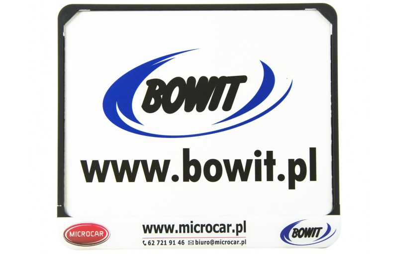 Ramka tablicy rejestracyjnej Microcar